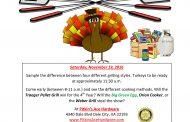 Gobble, gobble: 4th Tournament of Turkeys in Dale City, Nov. 19