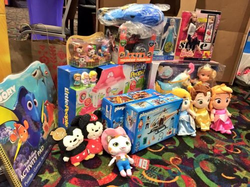 Prince William fire & rescue collecting donations for Toys for Tots