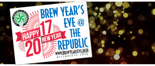 Brew Year's Eve at Stonebridge in Woodbridge, Dec. 31