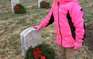 Woodbridge American Heritage Girls troop lays wreaths at Arlington National Cemetery