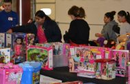 House of Mercy, volunteers & non-profits helped 81 families this Christmas