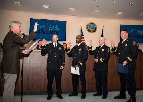 New Fire Marshal selected, fire & rescue members promoted in Manassas