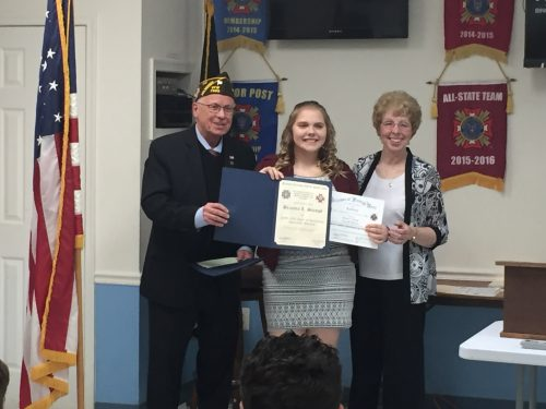 Manassas students recognized for VFW essay contest submissions