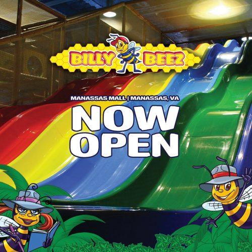 Billy Beez indoor playground opens in Manassas Mall