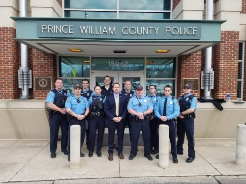 Prince William police officers receive 'Life Saving Valor Award'