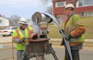 Prince William Service Authority doing sewer main work in Triangle