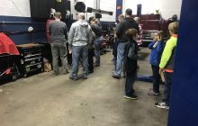 Steve's Auto helps Scouts prep their cars for the Pinewood Derby
