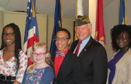 Occoquan VFW Post 7916 awards 5 essay contest winners