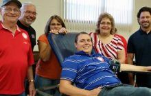 American Red Cross running blood drive at Manassas Mall on Friday