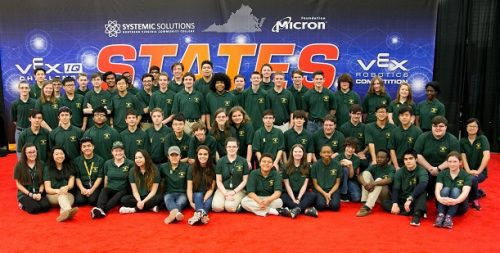 Woodbridge High School robotics team to head to World Tournament for sixth time