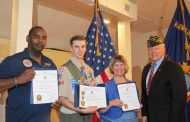 Occoquan VFW Post 7916 presents teachers, Eagle Scout with community awards