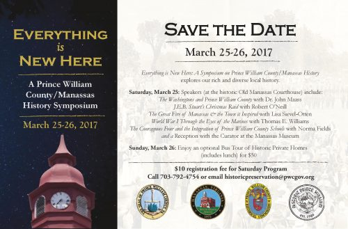 Historic Preservation Foundation to host symposium this weekend in Manassas