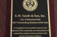 Manassas Park-based business KW Smith & Son wins award