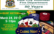 "DCVFD hosting ""Casino Night"" fundraiser in Woodbridge"