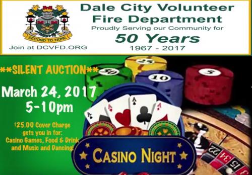 "DCVFD hosting ""Casino Night"" fundraiser in Woodbridge"