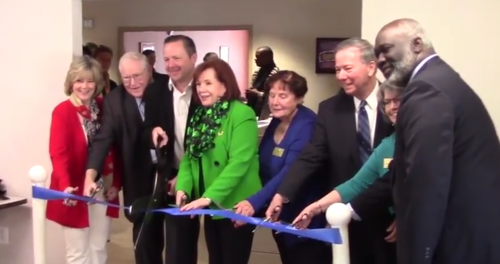 Ribbon cutting celebrates renovation of Bill Mehr Drop-In Center
