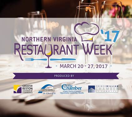 Northern Virginia Restaurant kicking off in Prince William, Mar. 20-27