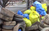 Volunteers remove 182 trash bags, 46 tires during creek cleanup in Woodbridge