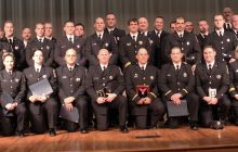 Prince William fire and rescue held Medal Day ceremony for members
