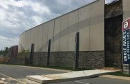 Wall panel takes a tumble at Stonebridge at Potomac Town Center