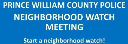 Prince William police hosting Neighborhood Watch training, June 19