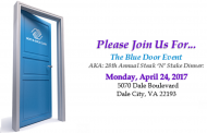 'Blue Door' fundraiser for Boys & Girls Club in Dale City, Apr. 24