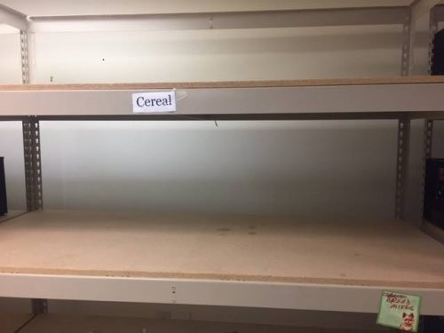 Haymarket food pantry has run out of food, needs donations