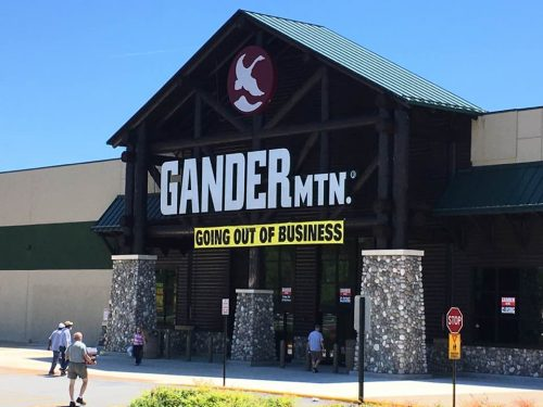 Woodbridge Gander Mountain is closing, along with most of nationwide locations