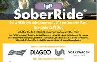 Get free SoberRide home for Cinco de Mayo festivities