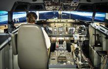 Manassas-based company Aurora Flight Sciences' robotic co-pilot flies & lands simulated Boeing 737