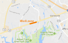 Lane closures in Gainesville, roadwork on I-95 this week
