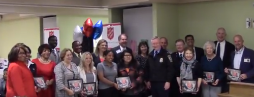Prince William Salvation Army recognizes volunteers at awards dinner