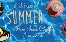 Duck Donuts giving away free iced coffee tomorrow for first day of summer