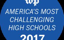 "PWCS high schools rank high on Washington Post's ""America's Most Challenging High Schools"" list"