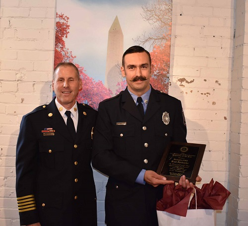 """Fairbanks named as Manassas fire & rescue """"Responder of the Year"""""""
