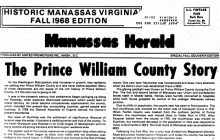 Blast from the past: Digitized newspapers show history, growth of Prince William