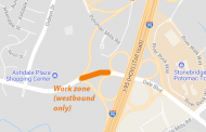 30-minute closure on Dale Boulevard at 10:30 a.m. today
