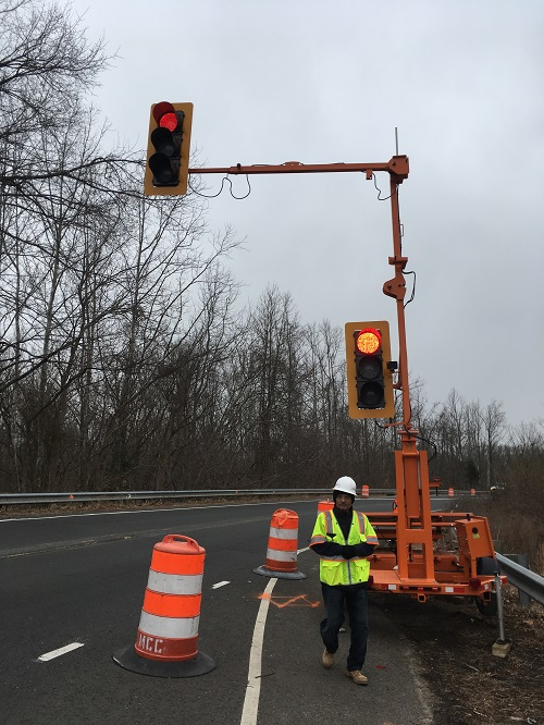 Traffic pattern shift on Old Centreville Road during bridge rehab, says VDOT