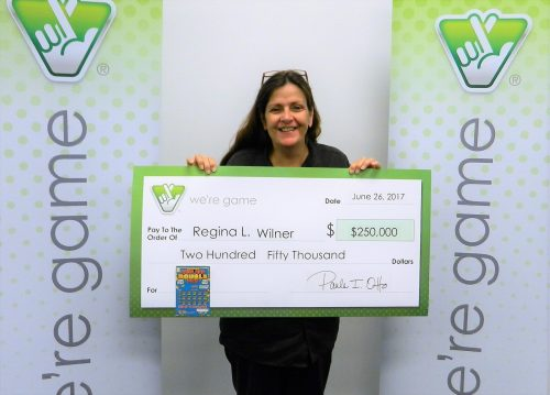 Dumfries waitress wins $250K from Virginia Lottery scratcher