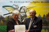 Rippon Middle principal awarded by NSSAR for supporting extracurriculars