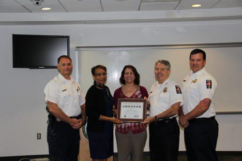 Prince William fire & rescue wins DoD Seven Seals Award
