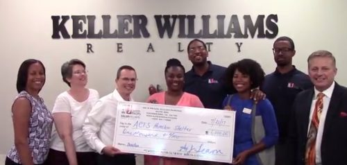 Following HGTV House Hunters appearance, AJ Team Realty donates $1K to ACTS