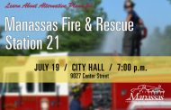 Manassas holding community meeting July 19 to discuss alternate fire & rescue site
