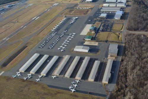 Anderson talks aviation, economic development at Manassas airport