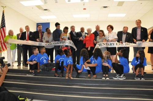 Covington-Harper Elementary opens in Dumfries, commemorates two community leaders