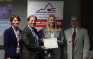 Virginia presents Micron with V3 veteran hiring certificate in Manassas