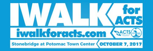 Community Conversations: Lace up for the IWALK for ACTS, Oct. 7
