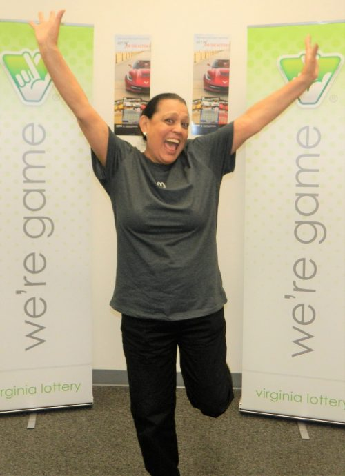 Dumfries woman wins Corvette & $100K from Virginia Lottery