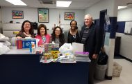 Dale City Civic Association & local business donate school supplies