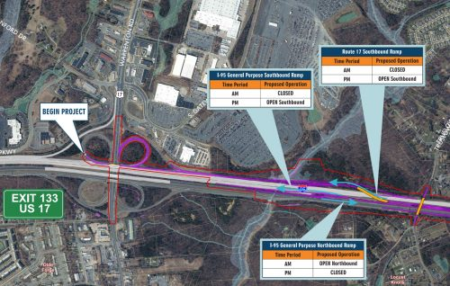 Public Meeting On I 95 Express Lanes Extension In Stafford Sept 25
